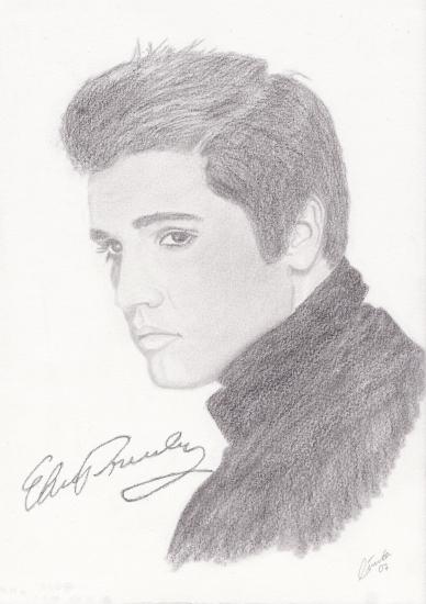 Elvis Presley by Linnea_